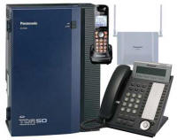 KX-TDA50G with 1 Phone and 1 Cordless Phone