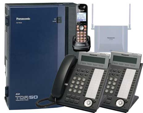 KX-TDA50g 2 Phones and 1 Cordless Phone